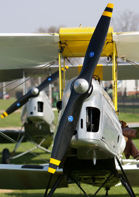 Tiger Moth trial flights