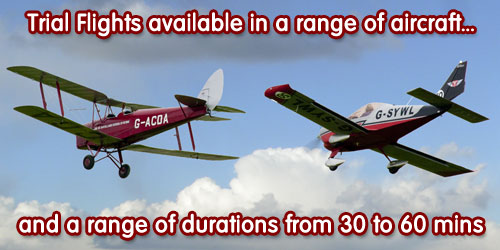 Trial flights available